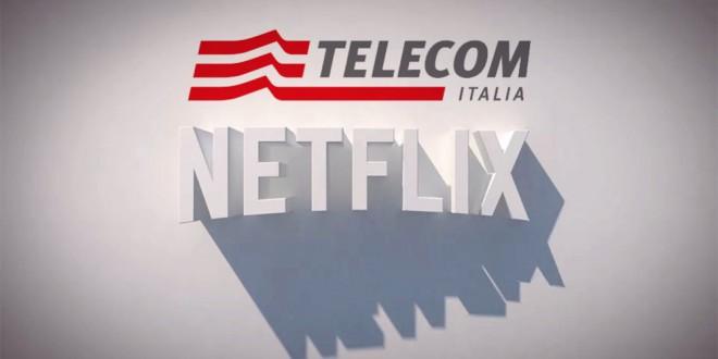 Accordo Netflix e Telecom