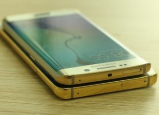 Samsung Galaxy Note 5 placcato in oro