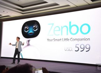 Asus inventa Zenbo, il robot che vi aiuta in casa