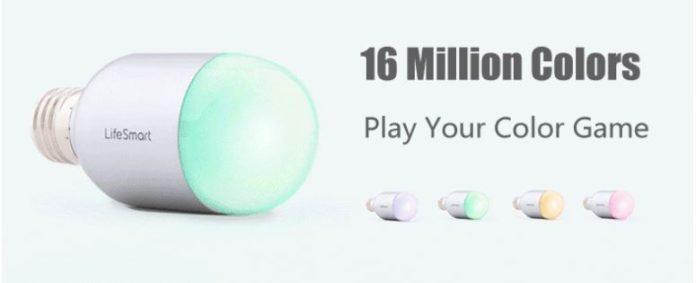 LifeSmart Smart LED Capsule Magic Bulb