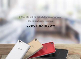 I colori del Cubot Rainbow