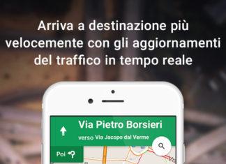 Google Maps turn-by-turn