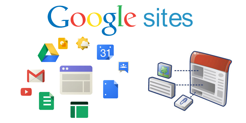 Google sites per realizzare siti web