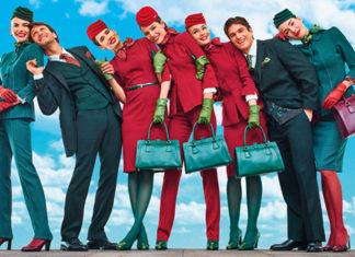 Alitalia debutta a Fiumicino con le nuove divise