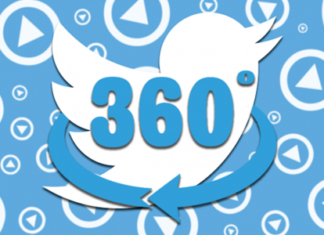 Twitter ospita i video a 360°