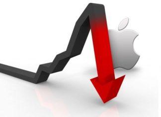 Apple calo di vendite