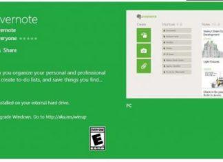 Evernote Microsoft Windows 10