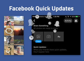 Facebook Quick Update