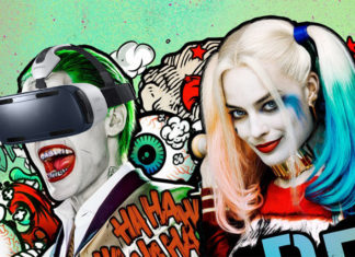 samsung gear VR suicide squad