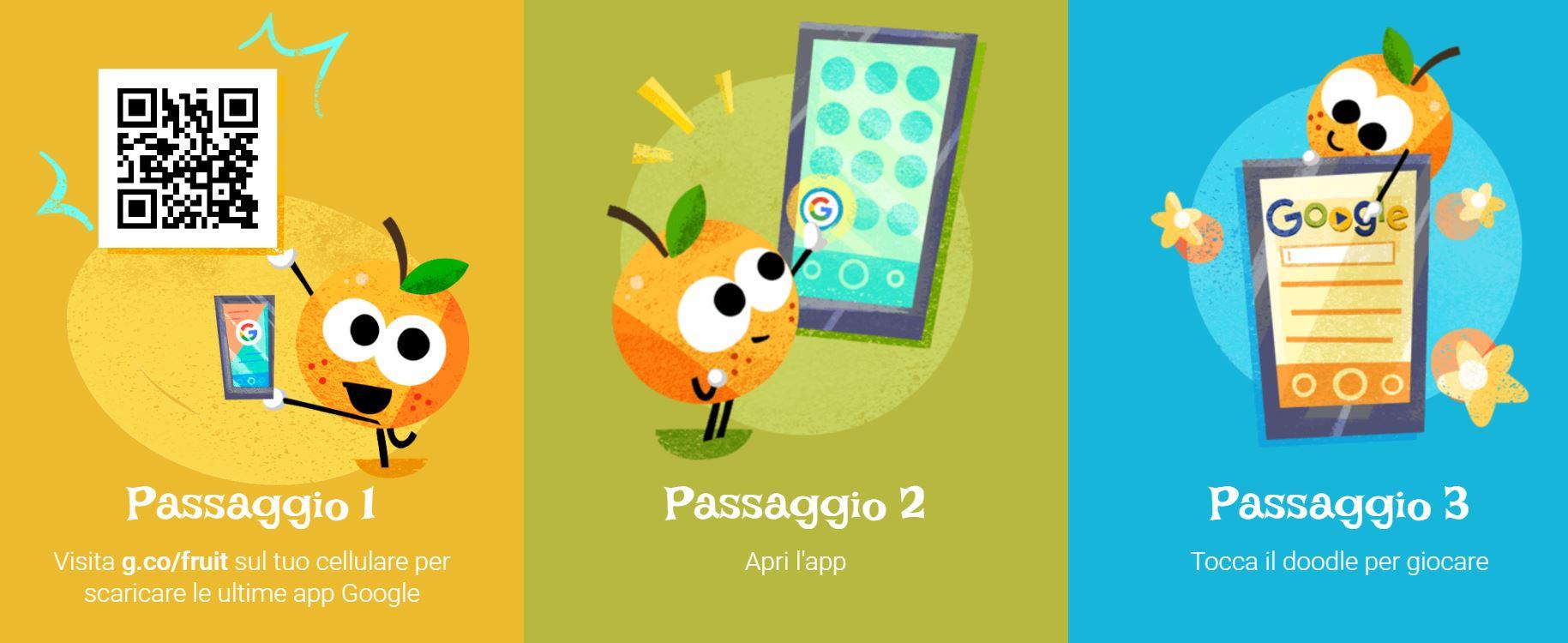Come si gioca a Doodle Fruit Games 2016