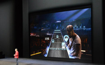apple tv guitar hero