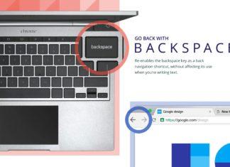 google chrome 52 backspace