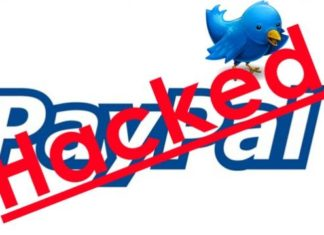 Account Twitter PayPal falsi