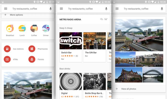 Google Maps cambia il design Esplora