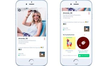 Spotify e Tinder