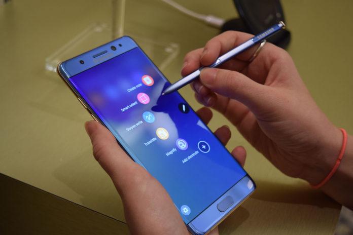 Samsung Galaxy Note 7 esce a novembre