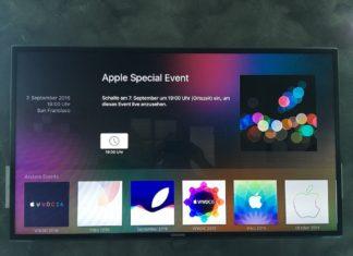 apple events apple tv 7 settembre