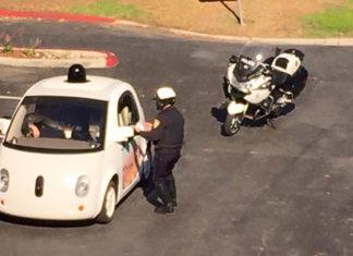 google car riconoscono la polizia