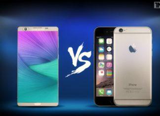 iphone 7 vs galaxy note 7