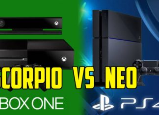 xbox one scorpio e playstation 4 neo