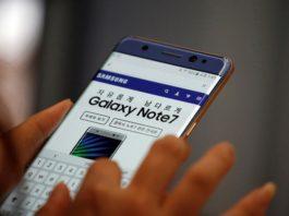 Samsung Galaxy Note 7 problema batterie