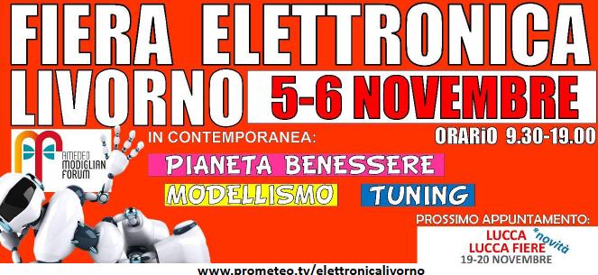 Fiera Elettronica Livorno 2016