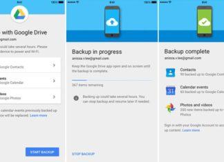 Google Drive permette di migrare facilmente da iOS a Android