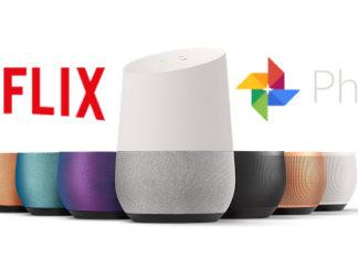 Google Home integra Netflix e Google Foto