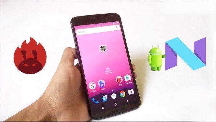 Android Nougat 7.1.1 causa un problema al Nexus 6