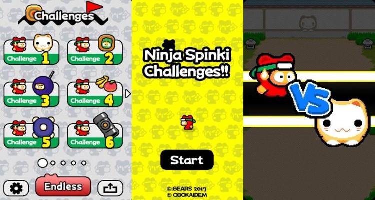 Dopo Flappy Bird ecco Ninja Spinki Challenges per iOS e Android