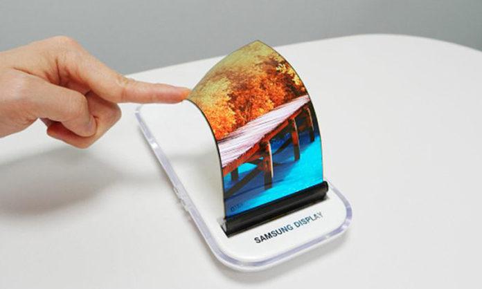 Samsung Galaxy X design fold out