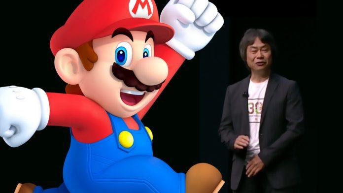 Shigeru Miyamoto creatore di Super Mario