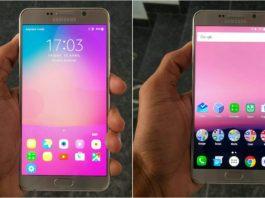 Android Nougat su Samsung Galaxy S7 Edge