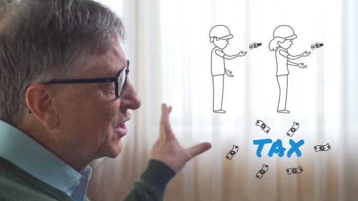 Bill Gates vuole far pagare le tasse ai robot