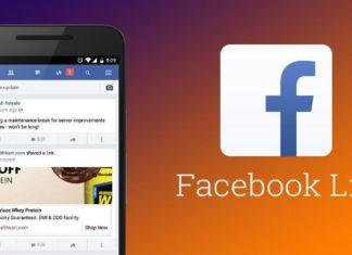 facebook lite esce in Italia