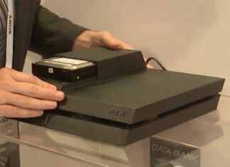 hard disk esterno nella PlayStation 4