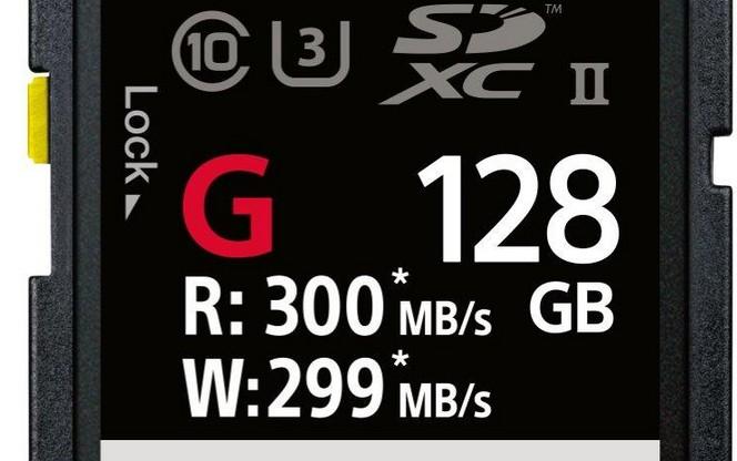Sony SF-G: ecco la scheda SD più veloce del mondo