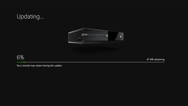 Aggiornamento Xbox One