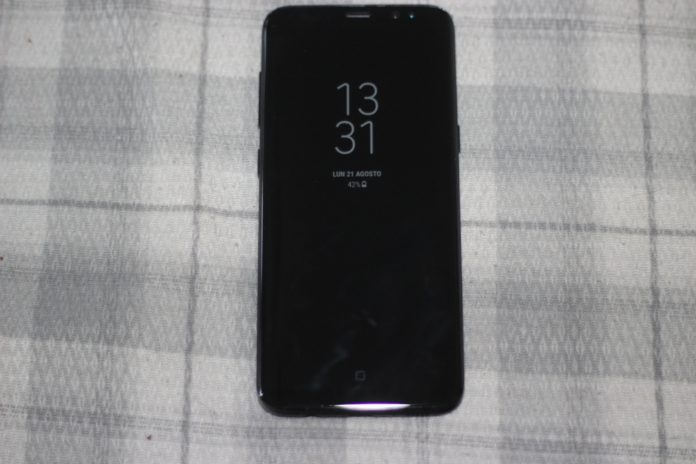 Always On Display Samsung Galaxy S8