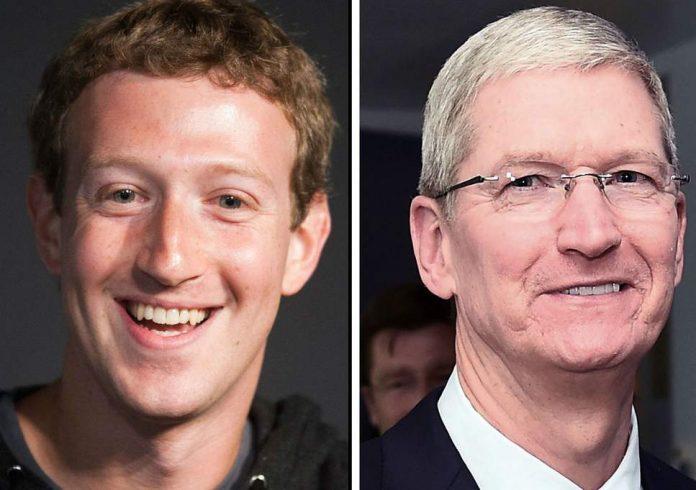 Dibattito Mark Zuckerberg Tim Cook Cambridge Analytica