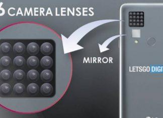 LG smartphone con 16 fotocamere