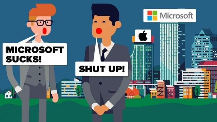 Microsoft ha battuto Apple nel mercato USA
