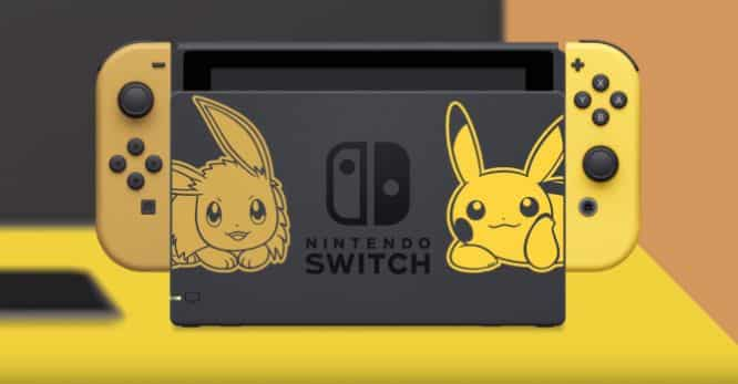 Pokémon Let's Go vendite Nintendo Switch