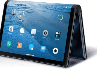 Royole lancia il primo smartphone tablet pieghevole, FlexPai