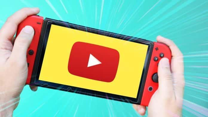 Su Nintendo Switch arriverà YouTube