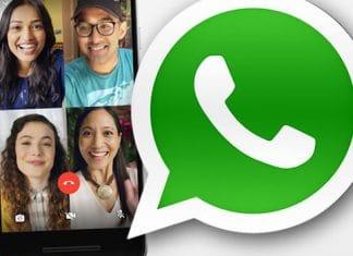 Aggiornamento Whatsapp chiamate di gruppo con un click