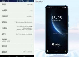 Huawei sistema operativo Kirin OS