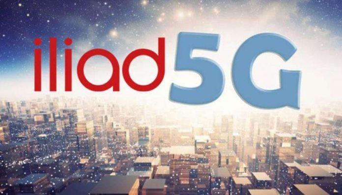Iliad connessione 5G nel 2019