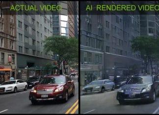 NVIDIA intelligenza artificiale e realtà virtuale creano video sulla vita
