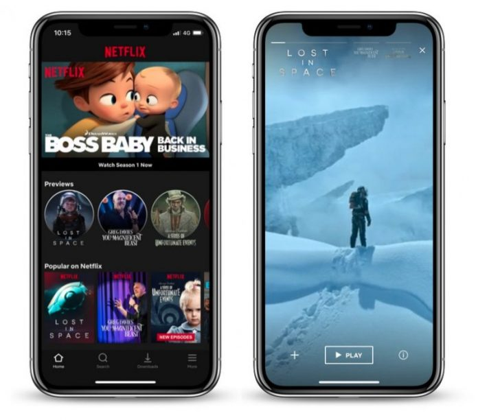 Netflix rimuove abbonamento iOS in app